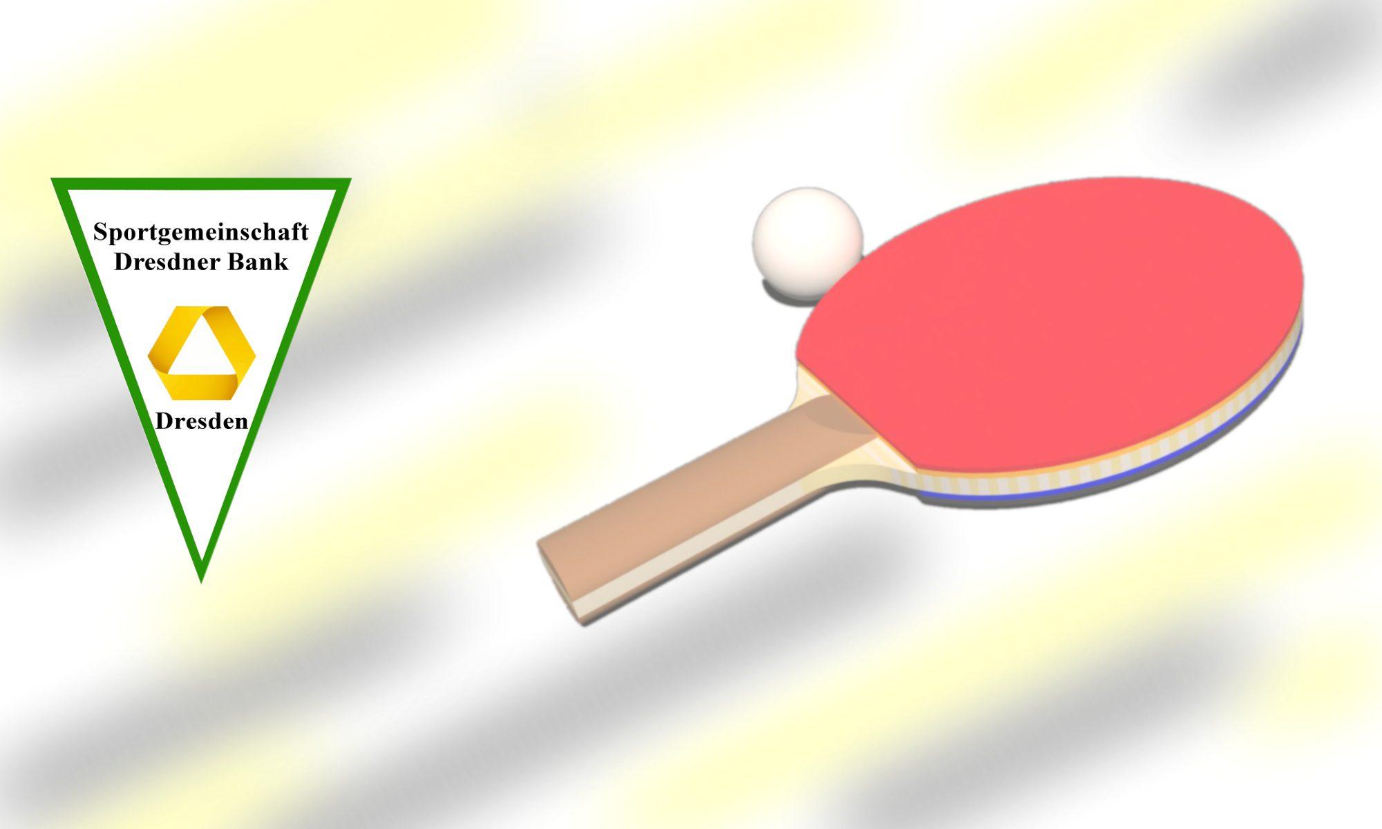 SG Dresdner Bank | Tischtennis
